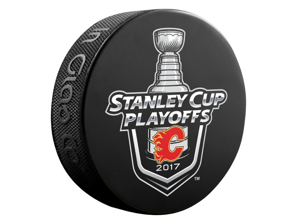 Puk Calgary Flames 2017 Stanley Cup Playoffs Lock Up