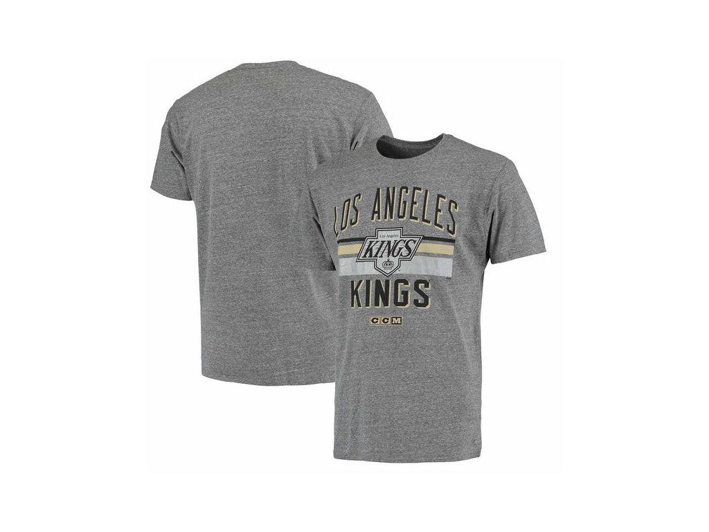 Tričko Los Angeles Kings CCM Classic Stripe Tri-Blend