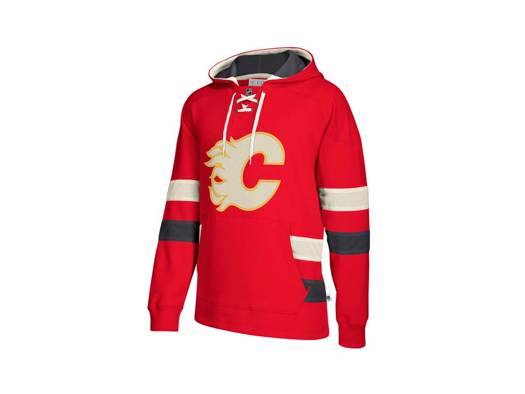 Mikina Calgary Flames 2017 CCM Jersey Pullover Hoodie