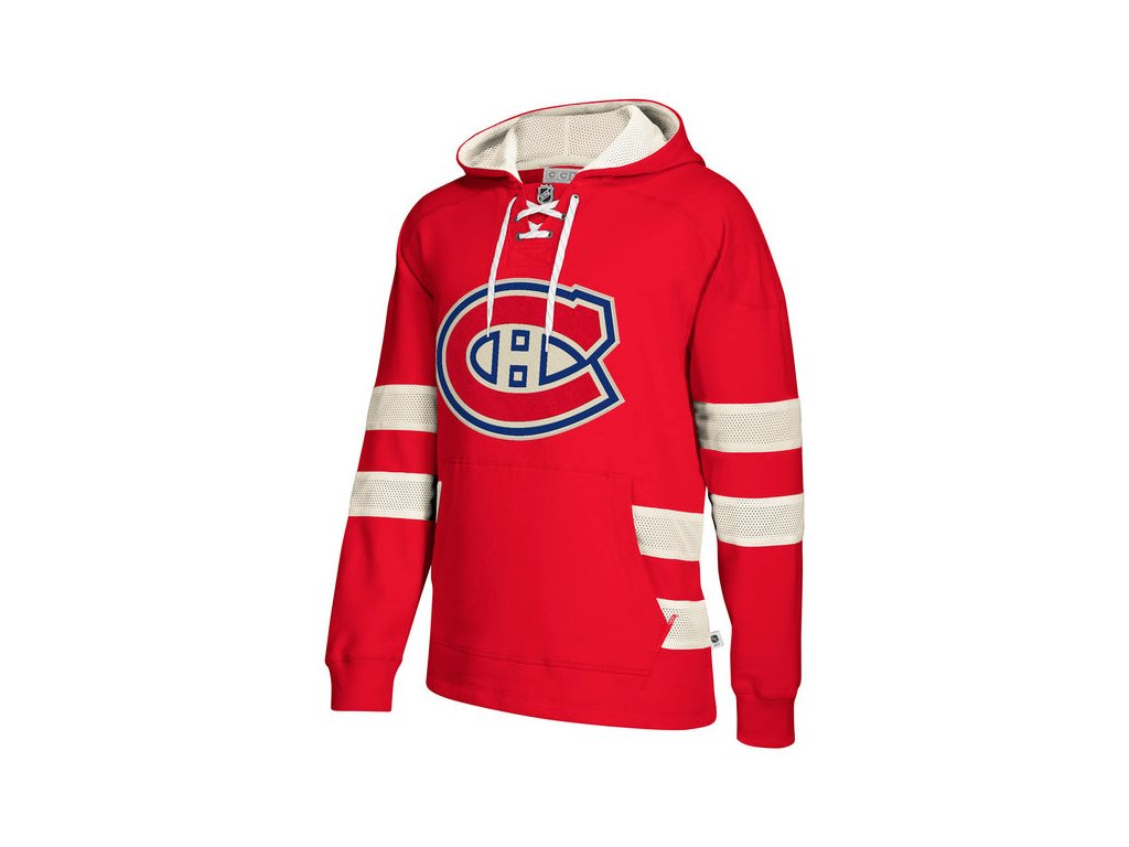 Mikina Montreal Canadiens 2017 CCM Jersey Pullover Hoodie Red