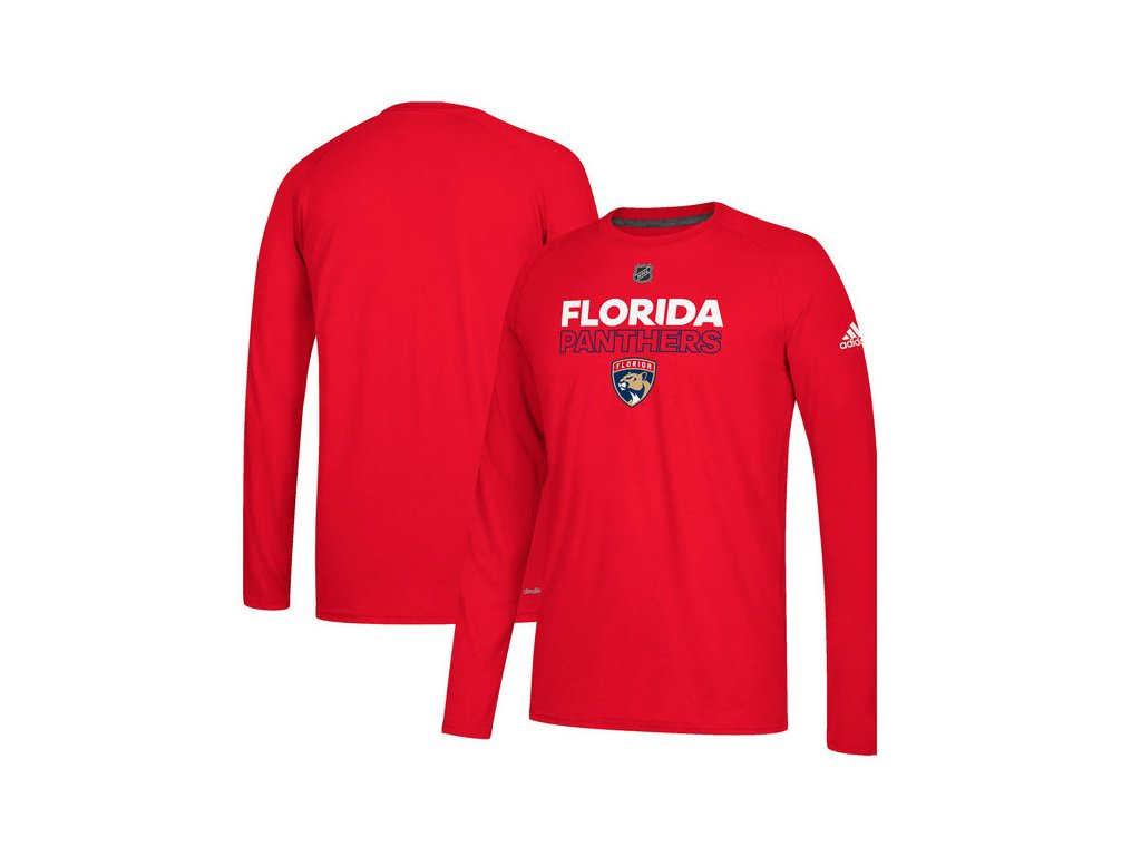 Tričko Florida Panthers Authentic Ice Climalite Ultimate L/S