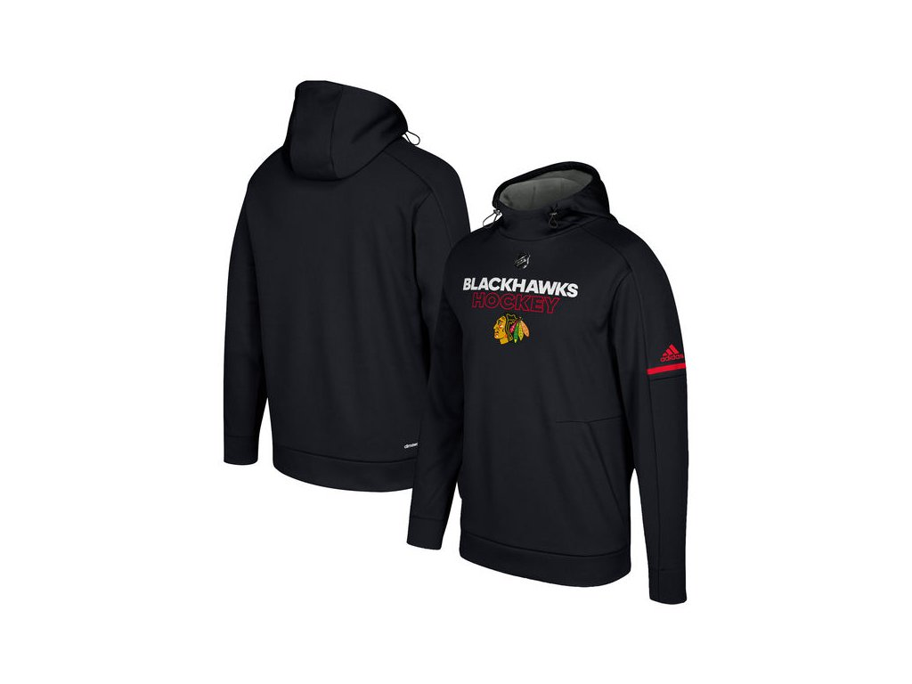 Mikina Chicago Blackhawks Authentic Pro Player Pullover Hoodie