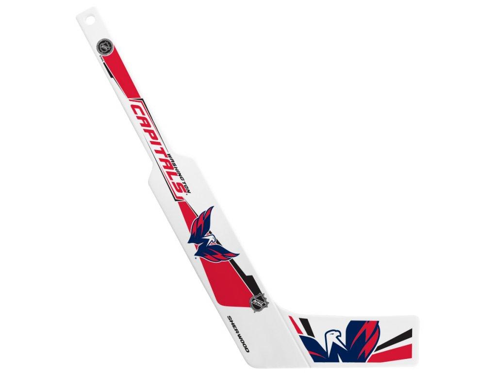 Plastová Minihokejka Washington Capitals Sherwood Goalie