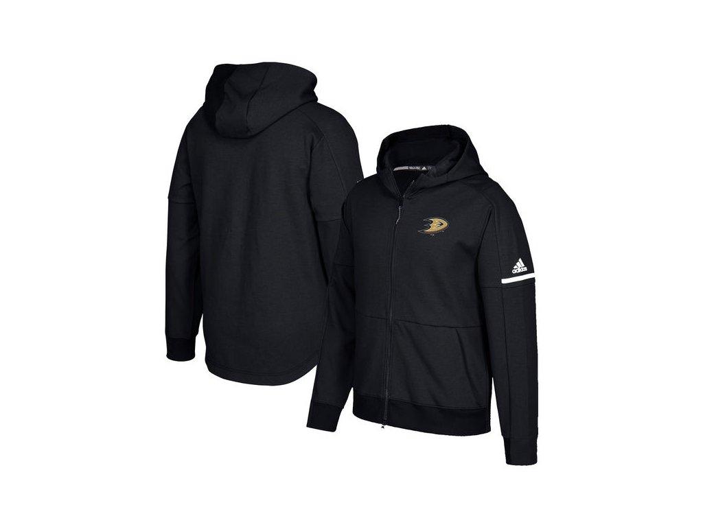 Mikina Anaheim Ducks Authentic Pro Squad ID Full-Zip Hood