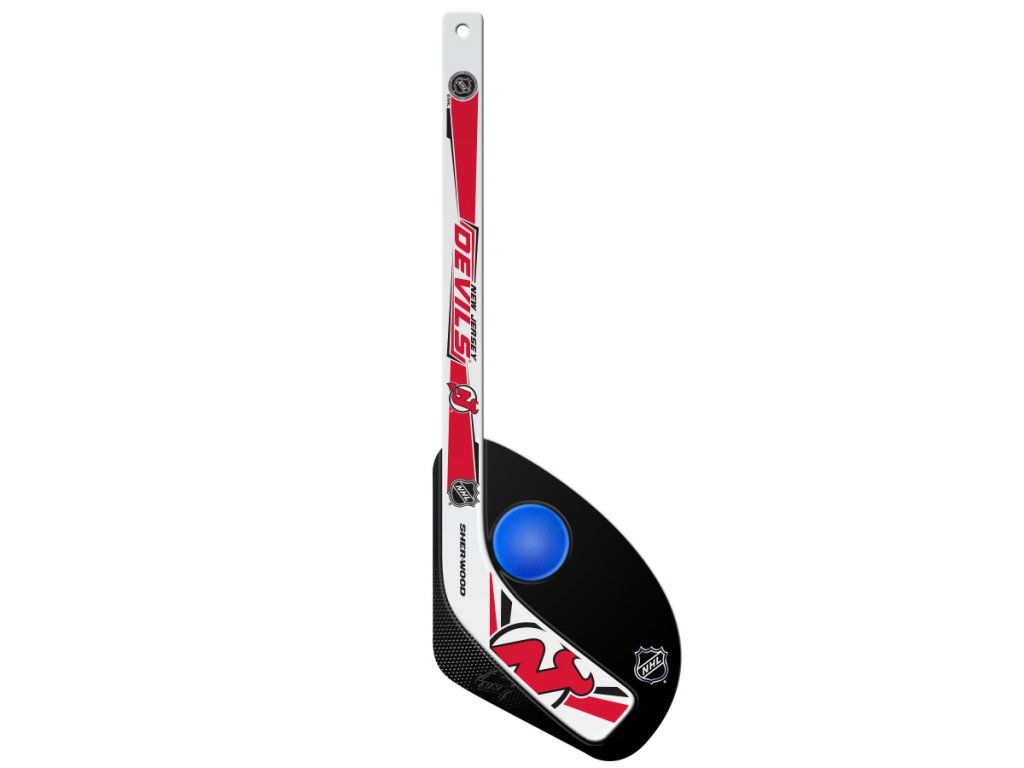 Plastová Minihokejka New Jersey Devils Sherwood Hattrick