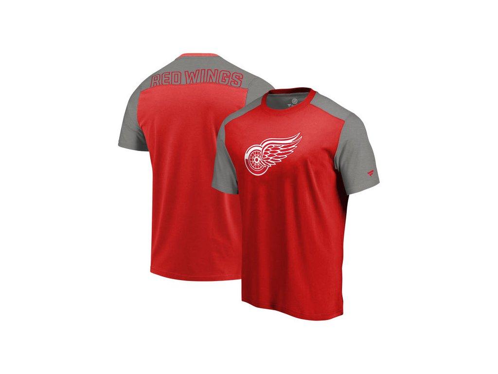 Tričko Detroit Red Wings Iconic Blocked