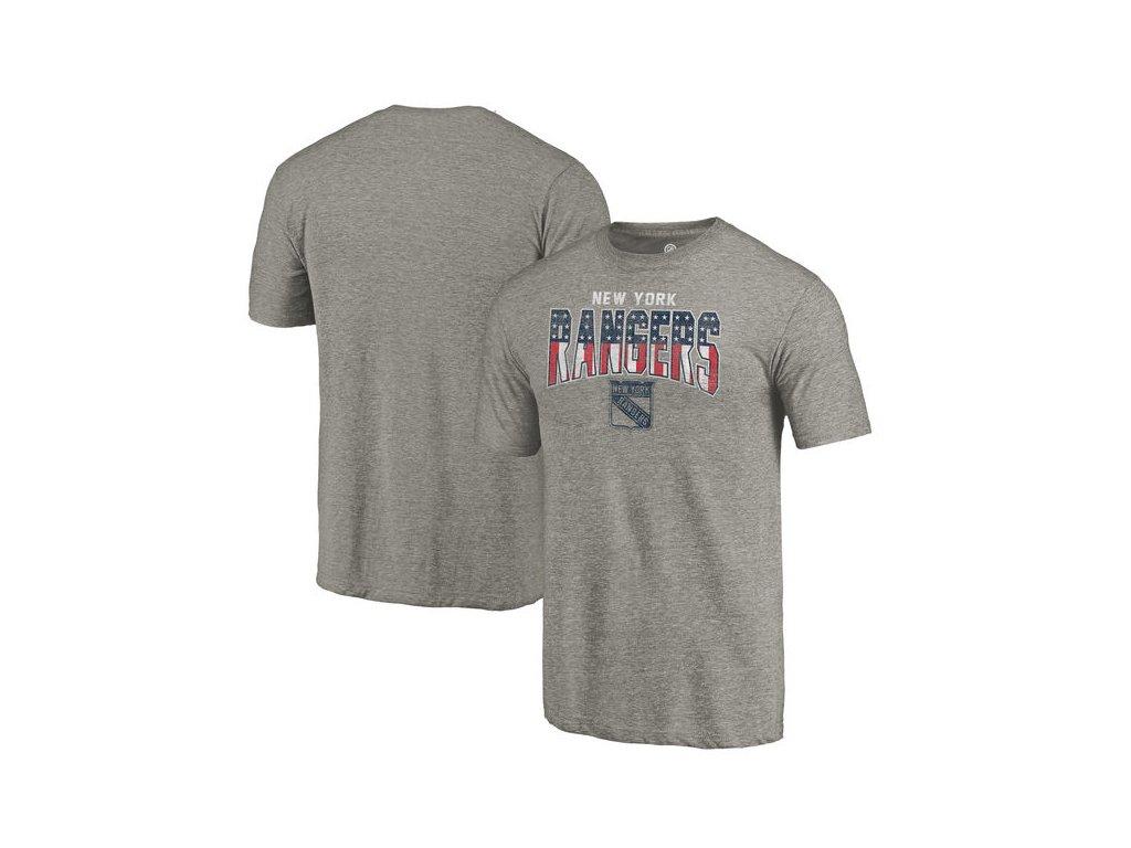 Tričko New York Rangers Freedom Tri-Blend