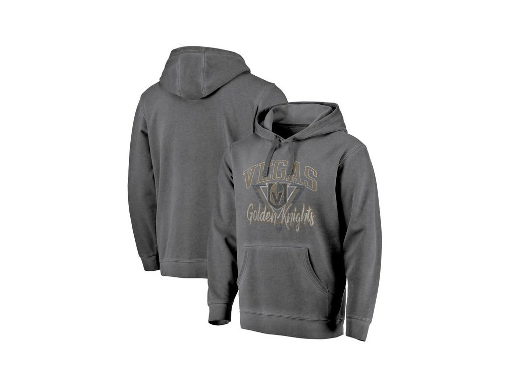 Mikina Vegas Golden Knights Shadow Washed Retro Arch Pullover Hoodie