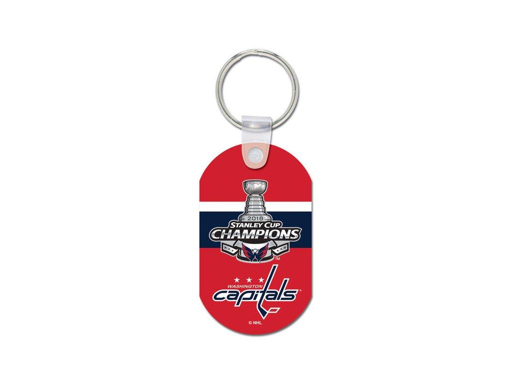 Kľúčenka Washington Capitals 2018 Stanley Cup Champions Aluminium Key Ring