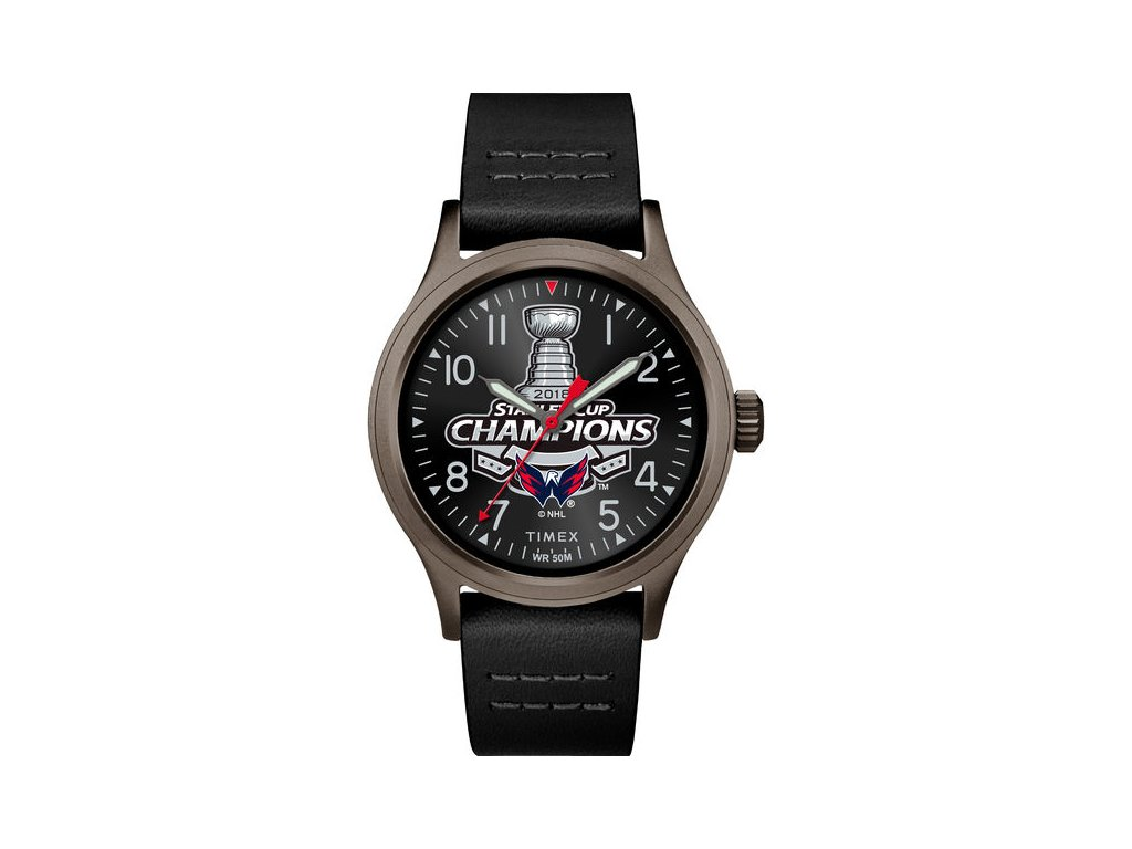 37901e881a Hodinky Washington Capitals 2018 Stanley Cup Champions Watch - Fanda ...