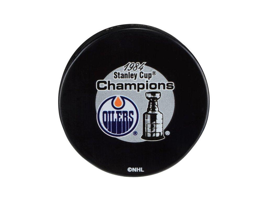 Puk Edmonton Oilers 1984 Stanley Cup Champions