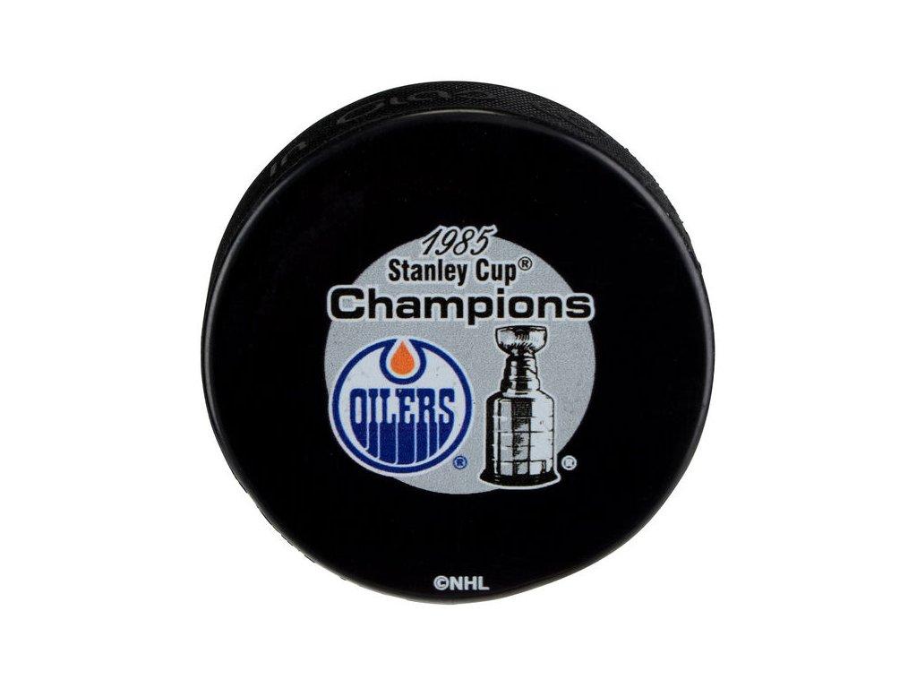 Puk Edmonton Oilers 1985 Stanley Cup Champions