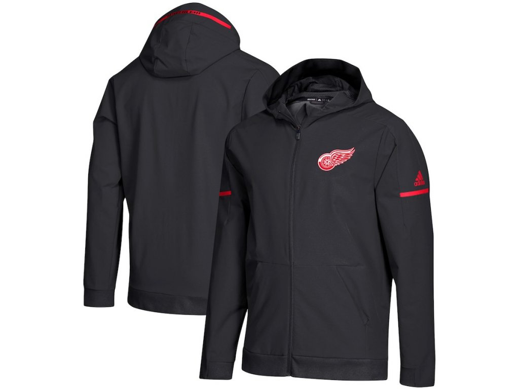 Mikina Detroit Red Wings Squad Woven Full-Zip Hoodie
