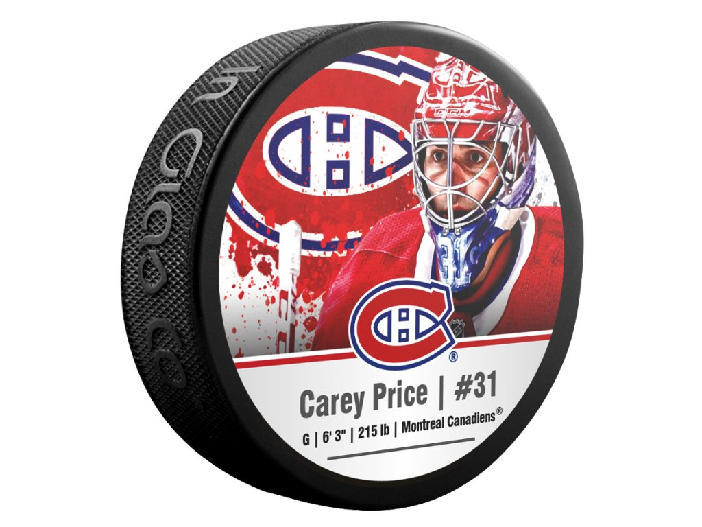 Puk Montréal Canadiens Carey Price #31 NHLPA