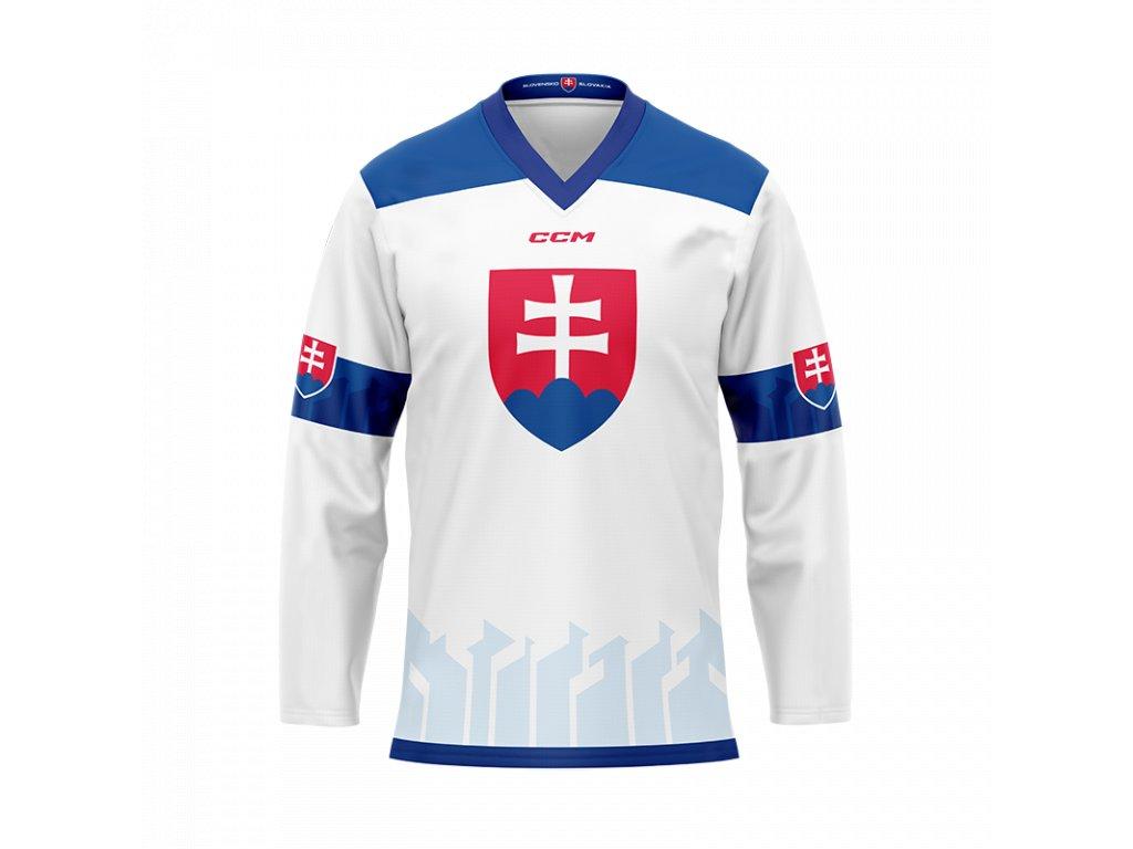 Fandres Hockey Slovakia - biely