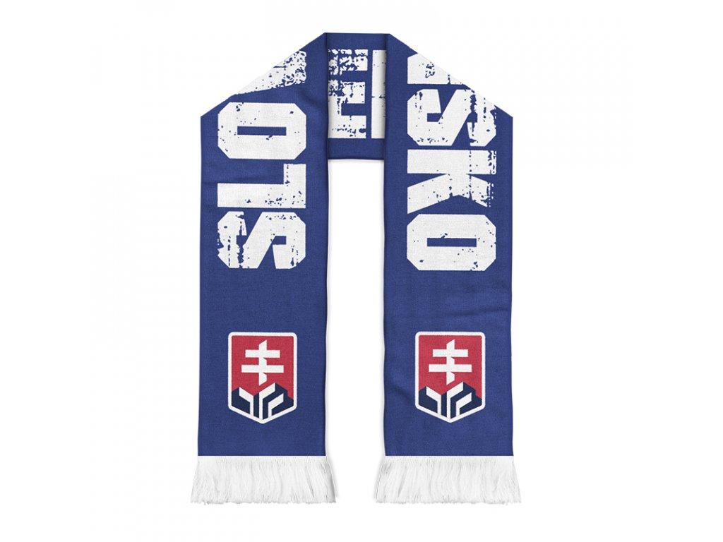 Obojstranný šál Slovensko