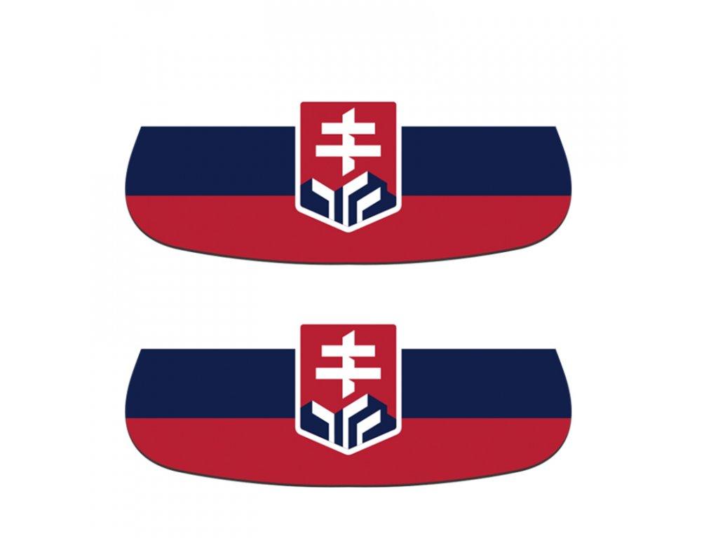Nálepka na tvár logo Hockey Slovakia