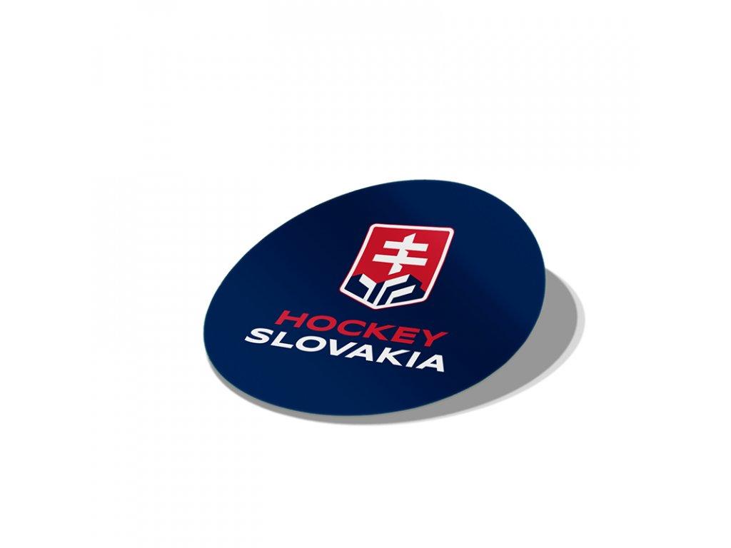 Nálepka Hockey Slovakia 8 cm