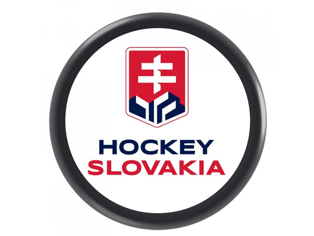 Puk obojstranný prekrížené hokejky Slovakia