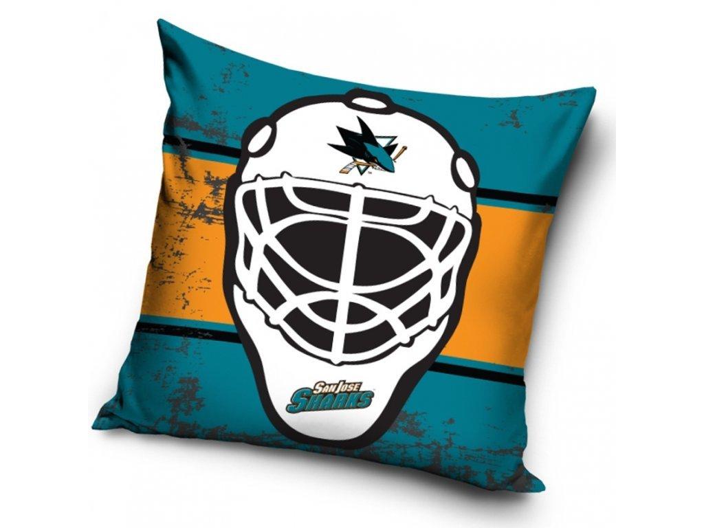 Vankúšik San Jose Sharks NHL Maska