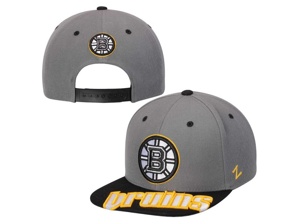 Šiltovka Boston Bruins Zephyr Crosscut Snapback