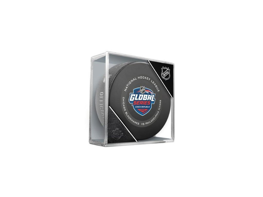 Puk Global Series Czech Republic 2019 Game Puck GS19