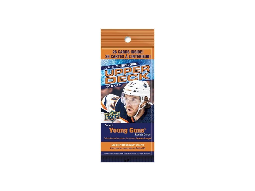 Hokejové Karty NHL 2020-21 Upper Deck Series 1 FAT Balíček