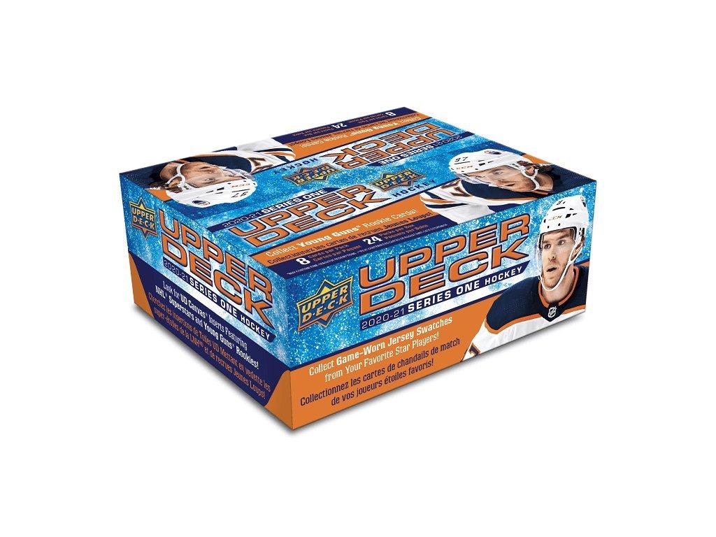Hokejové Karty NHL 2020-21 Upper Deck Series 1 Retail Box