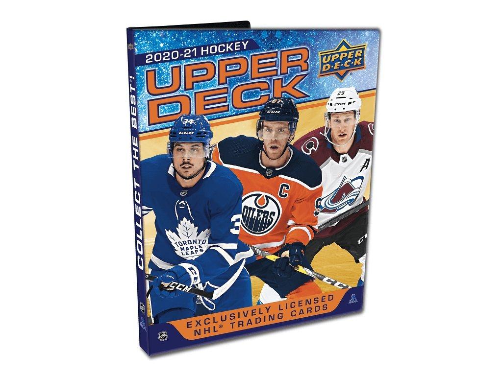 Album na Hokejové Karty 2020-21 Starter Kit + Set Kariet a Fóliou Full Pack