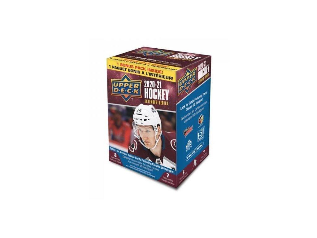 Hokejové Karty 2020-21 UD Extended Series Hockey Blaster Box