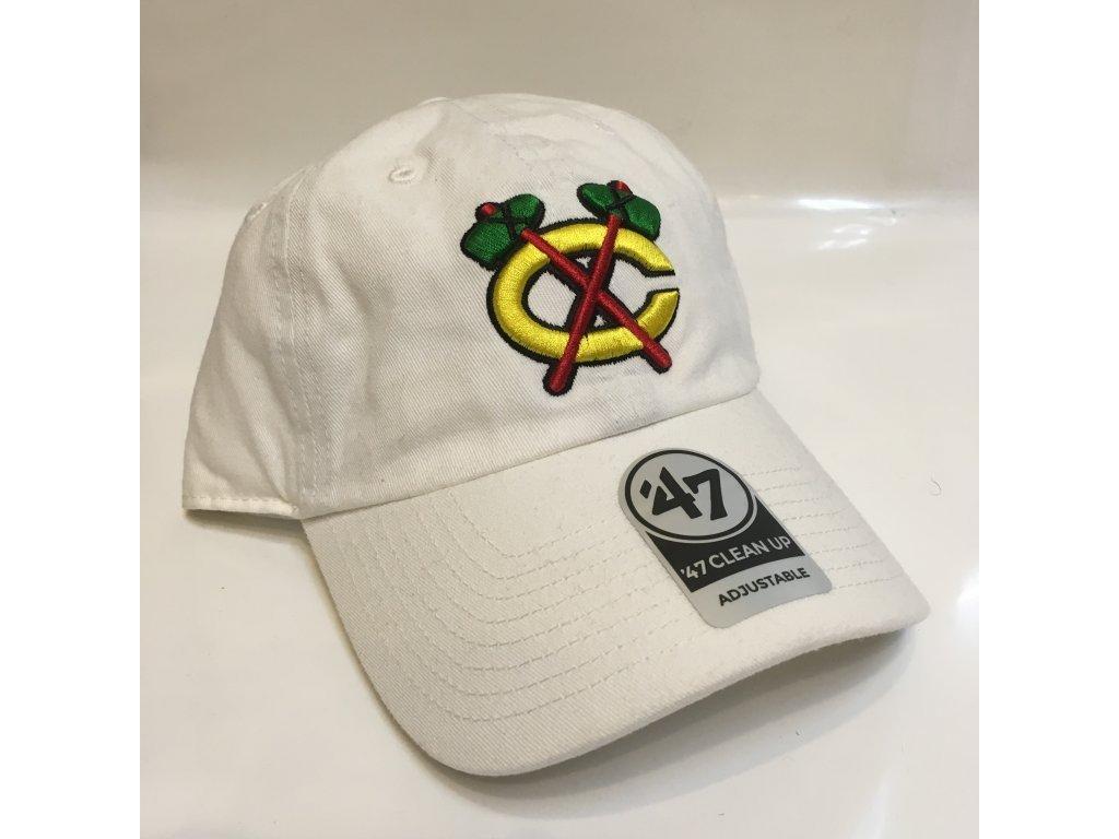 NHL Šiltovka Chicago Blackhawks Cleanup Natural