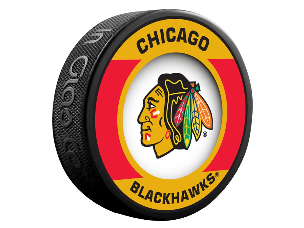 Puk Chicago Blackhawks Retro