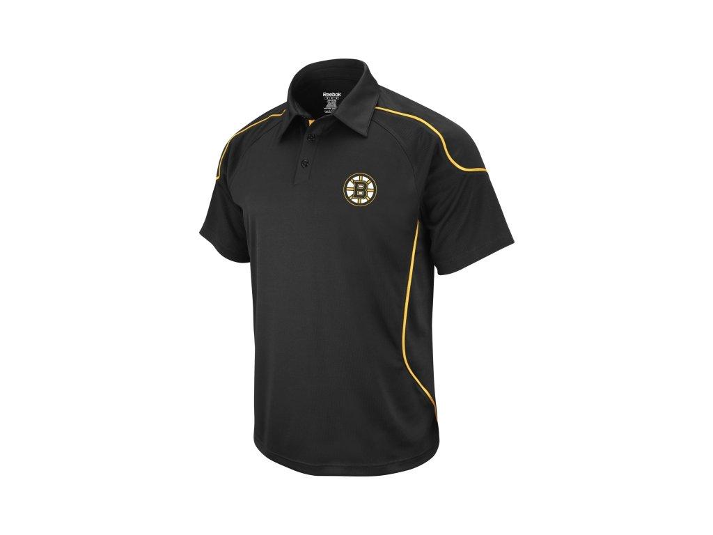 Polo Boston Bruins Team Flux - čierne
