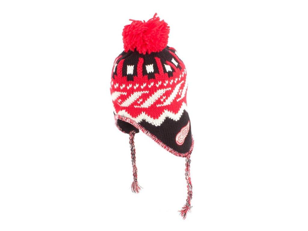 Zimná čiapka Detroit Red Wings Tassle