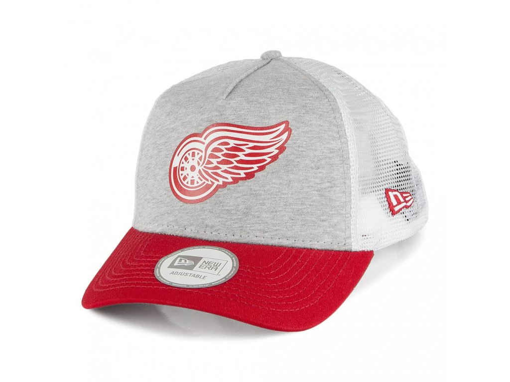 Šiltovka Detroit Red Wings NEW ERA Trucker Jersey Mesh