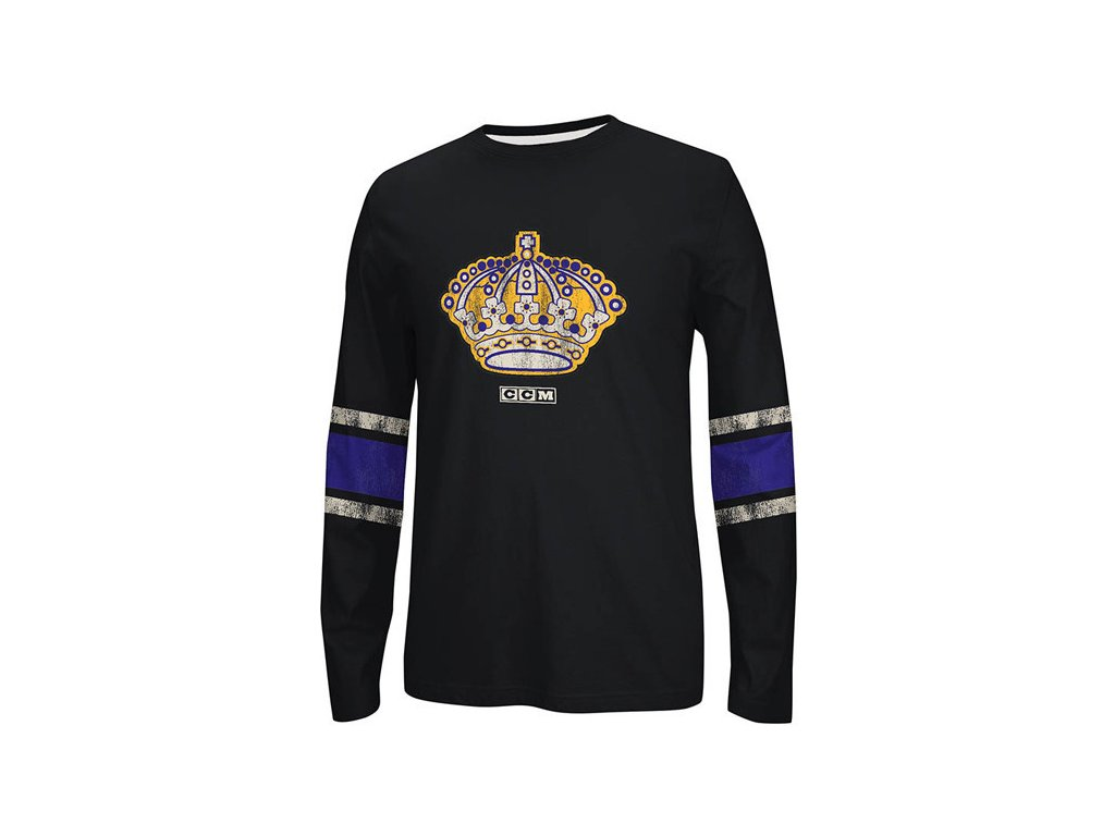 NHL TRIČKO LOS ANGELES KINGS LONG SLEEVE CREW