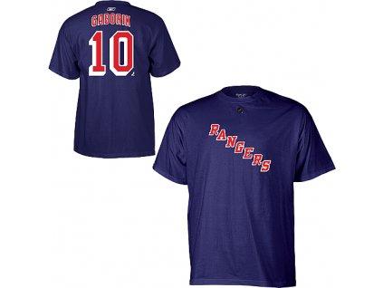 Tričko Marian Gaborik #10 New York Rangers