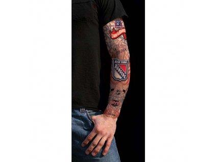 Tattoo rukáv - New York Rangers