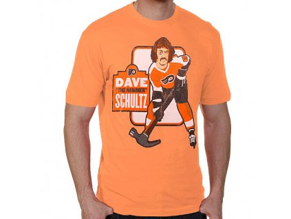 Tričko - Philadelphia Flyers Dave Schultz Alumni Hyperbole Vintage