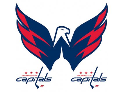 Logo na stenu - Peel and Stick - Washington Capitals