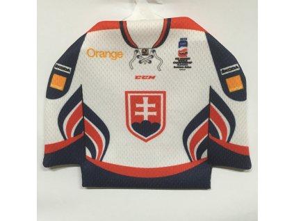 Minidres Slovakia Ice Hockey Team WHITE