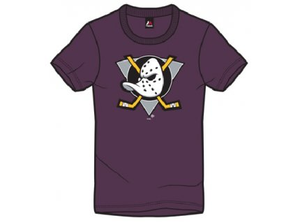 Detské Tričko Anaheim Ducks Majestic Rotal Logo Tee
