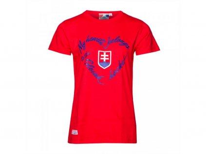 Dámske tričko SLOVAKIA ICE HOCKEY My Heart Belongs
