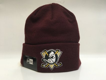 Zimná Čiapka Anaheim Ducks New Era Cuffed Knit