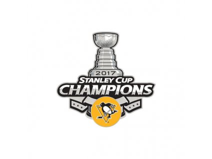 Odznak Pittsburgh Penguins 2017 Stanley Cup Champions Collector