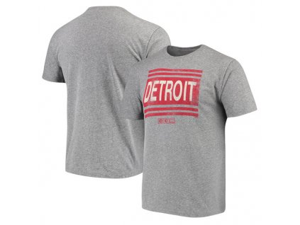 Tričko Detroit Red Wings Heritage Logo Series Tri-Blend