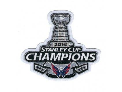 Nášivka Washington Capitals 2018 Stanley Cup Champions