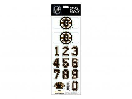 Samolepky na prilbu Boston Bruins Decals