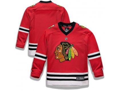 Detský Dres Chicago Blackhawks Replica Home Jersey