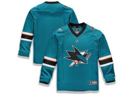 Detský Dres San Jose Sharks Replica Home Jersey